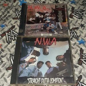 80s N.W.A EMPTY Case Lot Vintage Rap Hip Hop